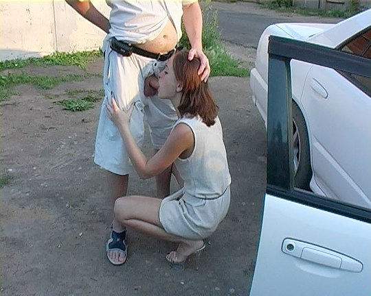 prostitute car