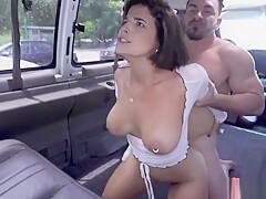 Busty Venezuelan Latina Fucked On The Bang Bus