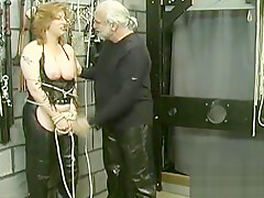 Magical maiden is playing with her rubber dildo