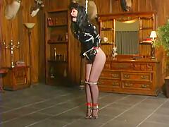 Wild Pervert Girl In Tempting Bdsm Latex Sex