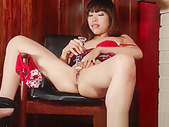 Girls Out West - Squirting Asian chick
