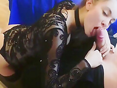 Hot Lingerie Teen Gets Fucked