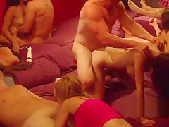 The red room welcomes horny swingers