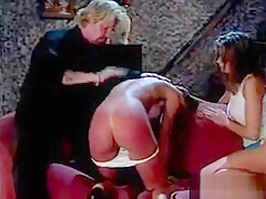 good spank for my bad wife when her daughter's friend looks