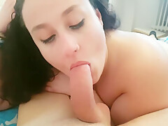 BBW Tittyfuck And Playing With Cock