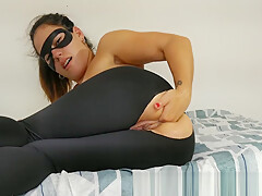 TEEN SELF FISTING IN PUSSY AND ASS , GREAT ORGASM REAL 4K
