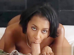 Titty black fingers and blows on camera