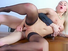 Big Cock Stud Hard Bang On Cam A Mature Lady (kayla green) video-17