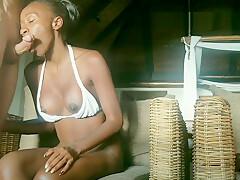 Hot Ebony Makes Love to Stranger On Vacation