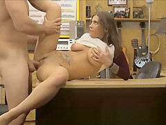 Supple Big Naturals Teen Fucked By Shop Manager