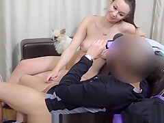 Perfect czech kitten gets tempted in the shopping centre and pounded in pov