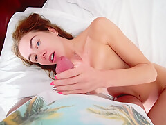 POV Waking up my step siter led to simultaneous orgasm