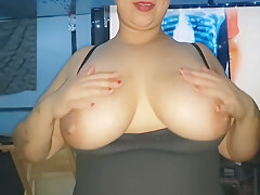 Sexy 420 Thick Latina Sucks and Titty Fucks for Cumshot