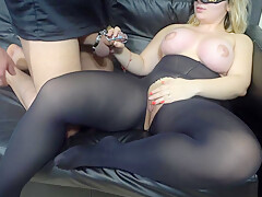 Slave eat cum of pussy in 4k M-Jaily