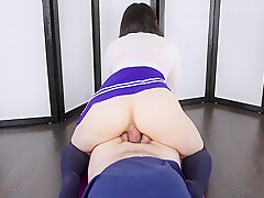 Cowgirl Riding on Your Dick and Edging FOOTJOB After My Orgasm | Era
