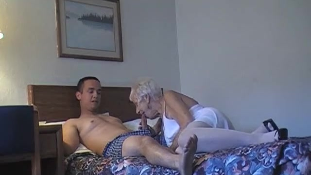 70 yr old granny with 20 yr old stud hclips   private home clips