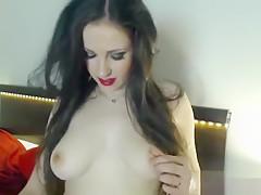 Maci Brooks fondles her pussy