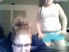 Chubby babes on a webcam show