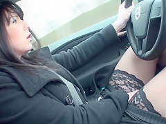 Im Auto gewichst