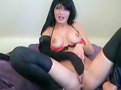 Jungfotze wichst sich ab - Original Orgasmus