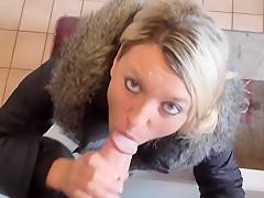 Blowjob Bitch entsaftet dich bis zur Spermaexplosion