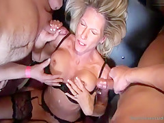 Gangbang in Germany
