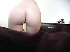 Teen strips in super hot sex video