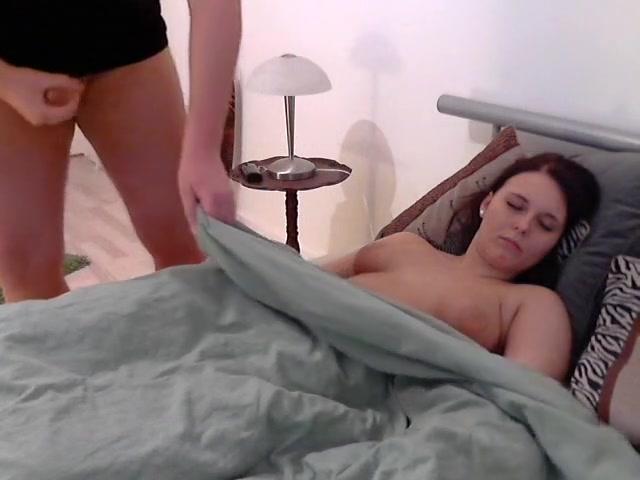 Brunette huge boobs video