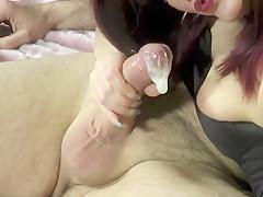 Quickie Schwanz Wixen - Cuckold Spermakondom